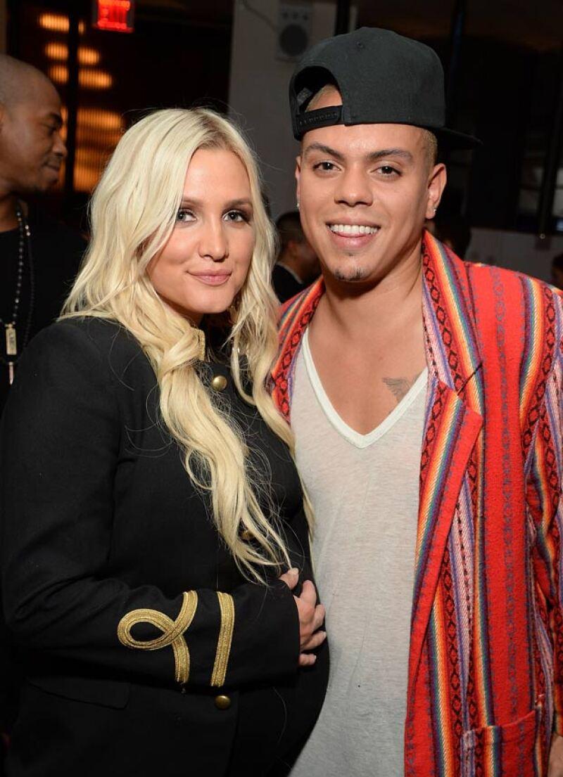 La cantante y el actor Evan Ross le dieron la bienvenida a su primer bebé como pareja, pero segundo para ella.
