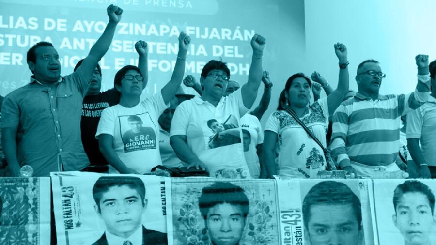 Padres de desaparecidos Ayotzinapa