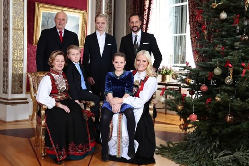 La Casa Real de Noruega.