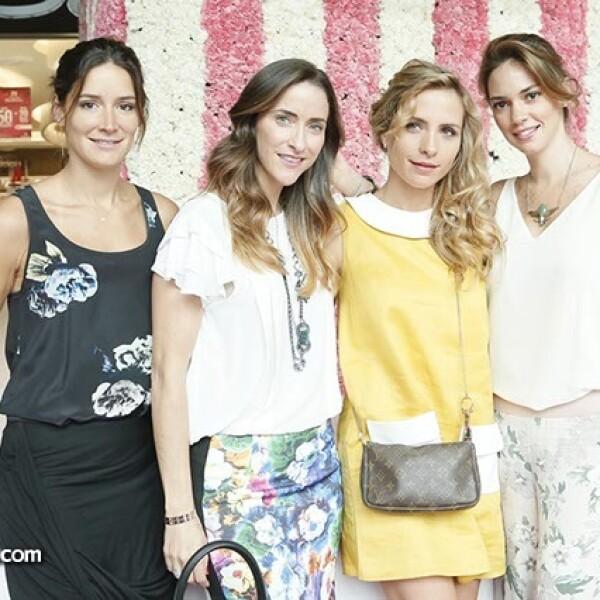 Alejandra Albarrán,Raquel Touché,Lucía Ferrer y Nona de la Rosa