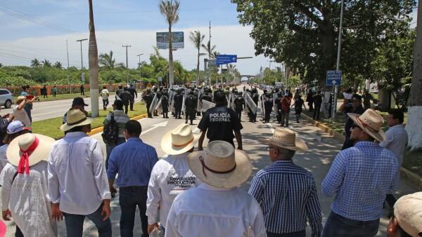 Campesinos de Guerrero