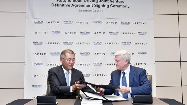 Alianza Hyundai y Aptiv