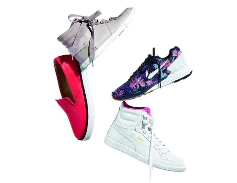 Desde trainers, slip-ons y high-tops, deberás encontrar el que mejor te quede. Nos encantan las propuestas de Lacoste, Hermès, Nike y Puma.