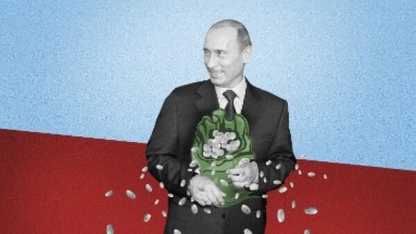 Rusia dinero