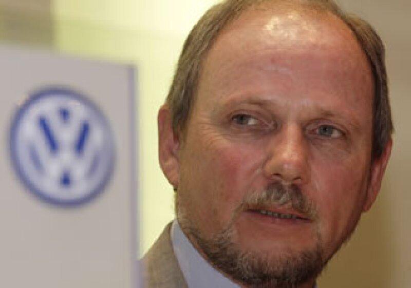 Thomas Karig, vicepresidente de Relaciones Corporativas de Volkswagen México. (Foto: Reuters)