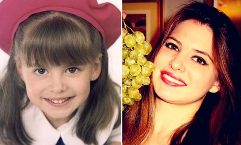 El antes y después de Daniela, quien dejó la actuación por la música.