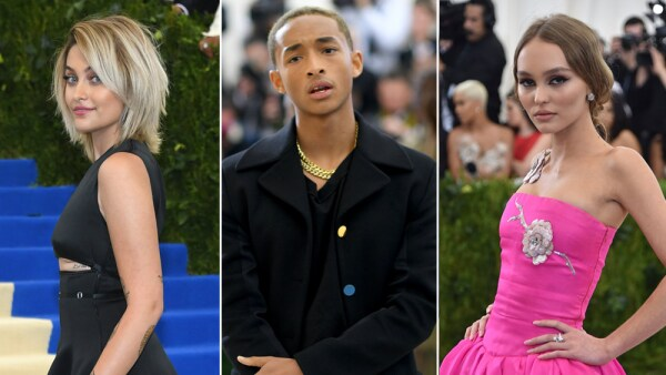 Jaden smith, lily-rose Depp, paris jackson