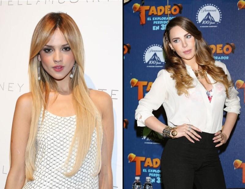 A pesar de que muchos han tratado de crear una rivalidad entre estas dos cantantes, la actriz de `Amores Verdaderos´ aseguró que entre ellas no hay ningún problema.