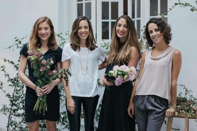 Paola Noriega Salvatori, Alejandra Manzano, Gabriela Setien y Andrea Bardasano son las cuatro creadoras de este innovador proyecto: The Wed List.