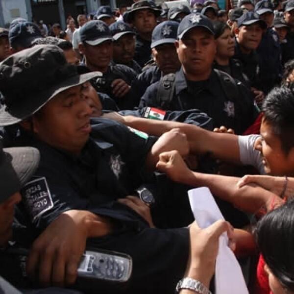 triquis policía Oaxaca 3
