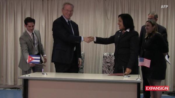Cuba y Google firman acuerdo