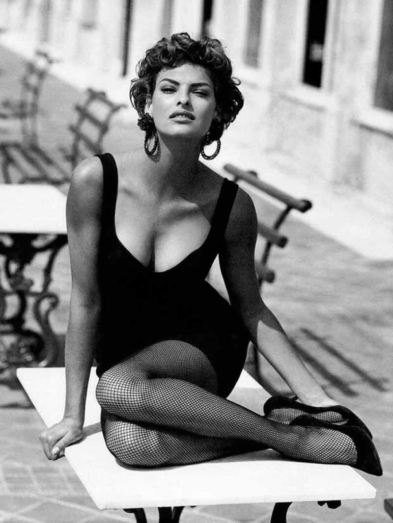 Linda es una de las top models más exitosas de los 90.