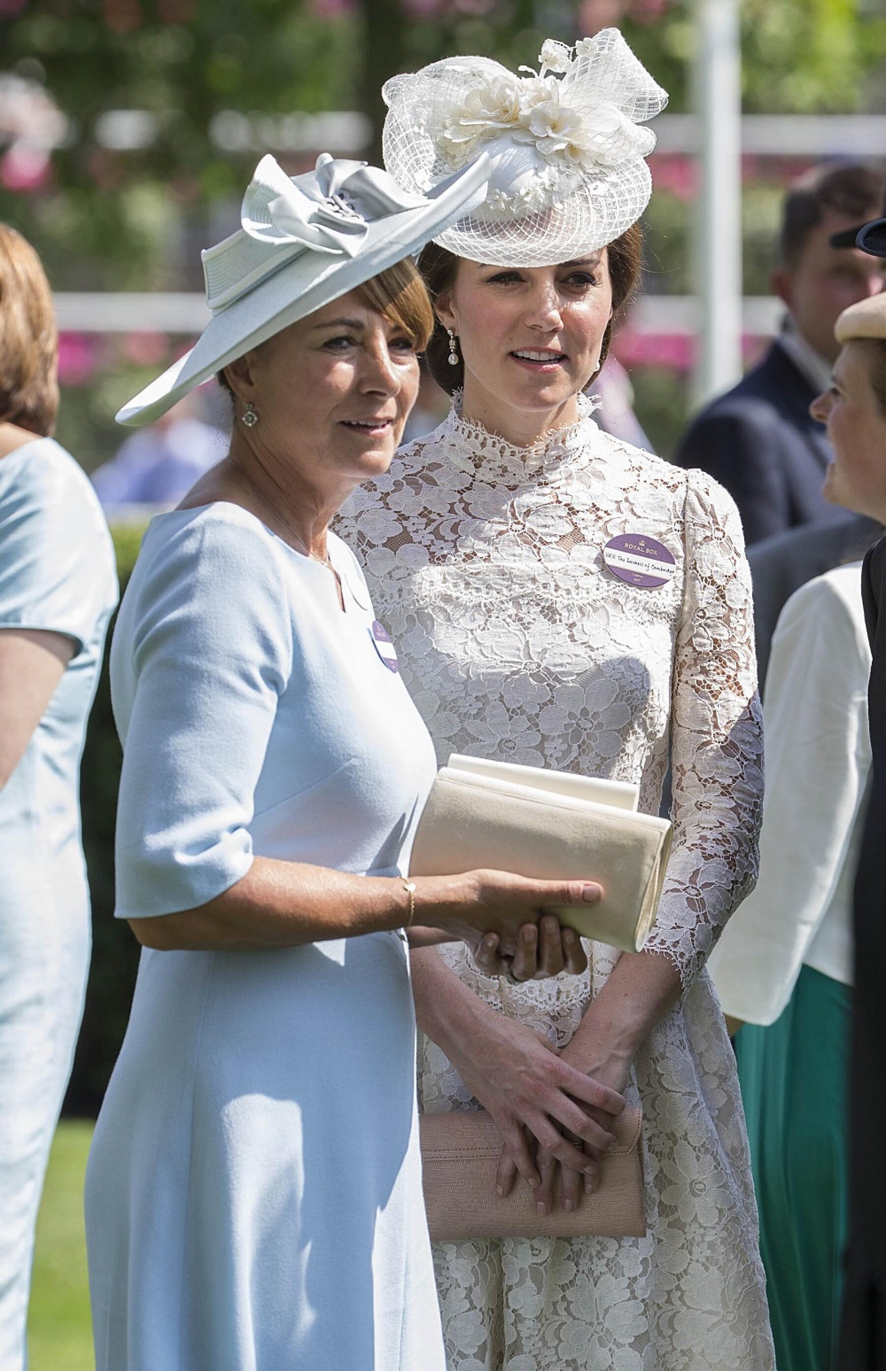 Carole Middleton y Kate Middleton
