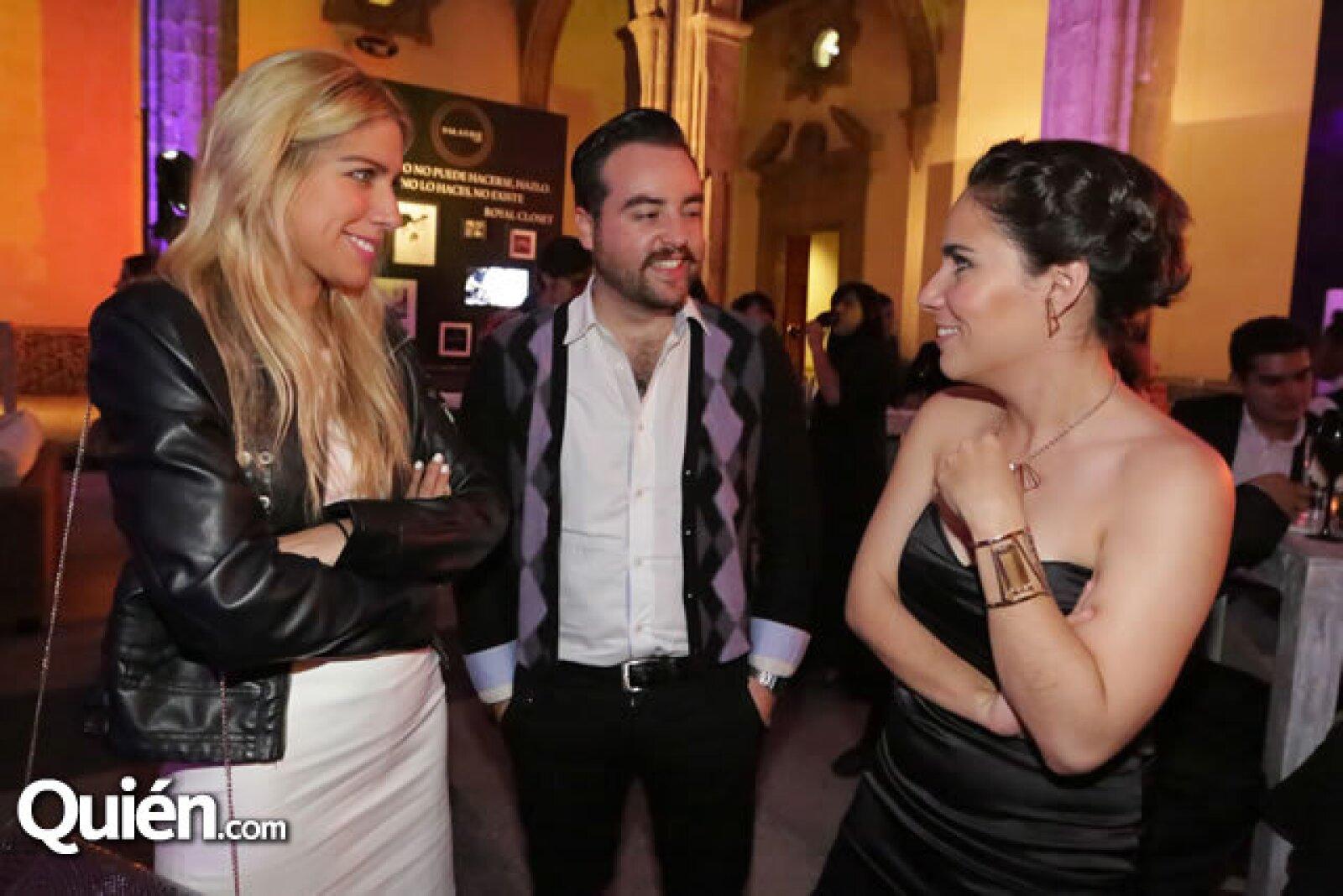 Marimar Barrientos, Daniel Pacheco y Bárbara Hagman
