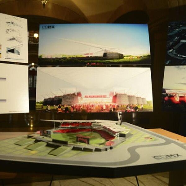 Este martes se dio a conocer el proyecto del diseño en el que participaron los despachos JAHN y ADG.