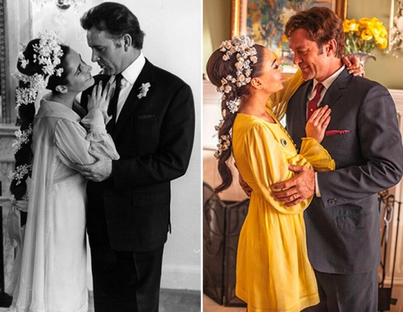 La película narra la historia del amor entre Liz y Richard Burton, Dick.