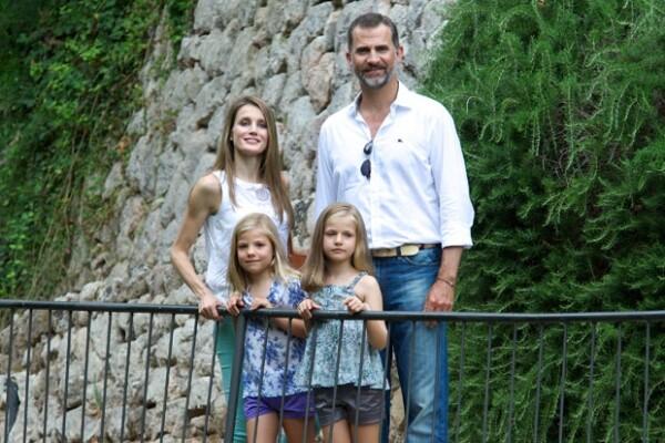 Esta imagen corresponde a las últimas vacaciones familiares en Mallorca.