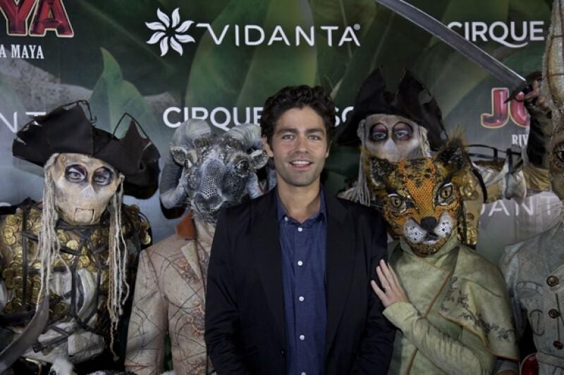 El actor estadounidense fue uno de los invitados internacionales a la inauguración de `Joyà´.