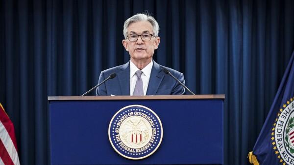 U.S. Federal Reserve Chairman Jerome Powellspeaks in Washington