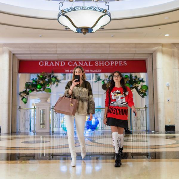 Shopping en el Gran Canal