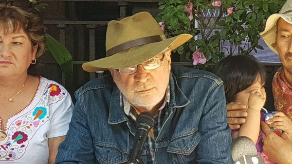 Javier Sicilia y AMLO