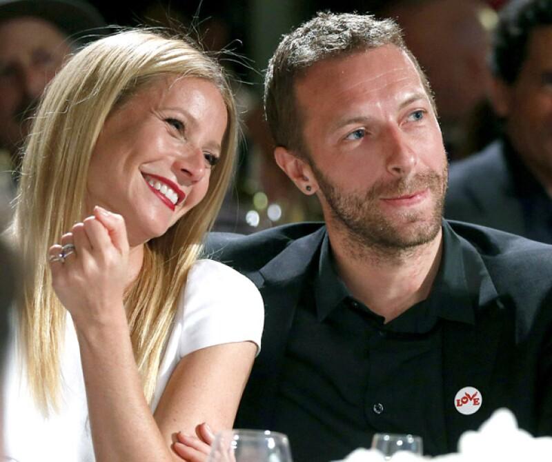Gwyneth Paltrow y Chris Martin cuando aún estaban juntos en 2015.