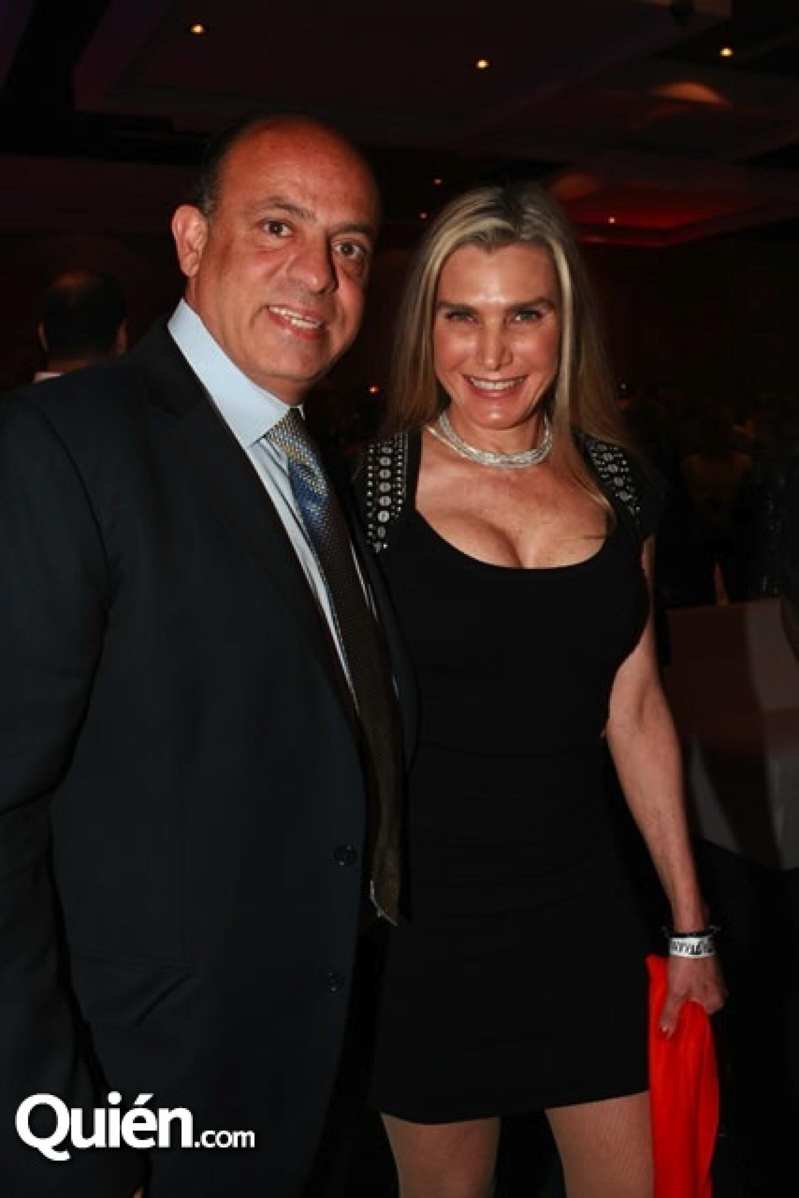Alberto Sacal y Sandra Leman