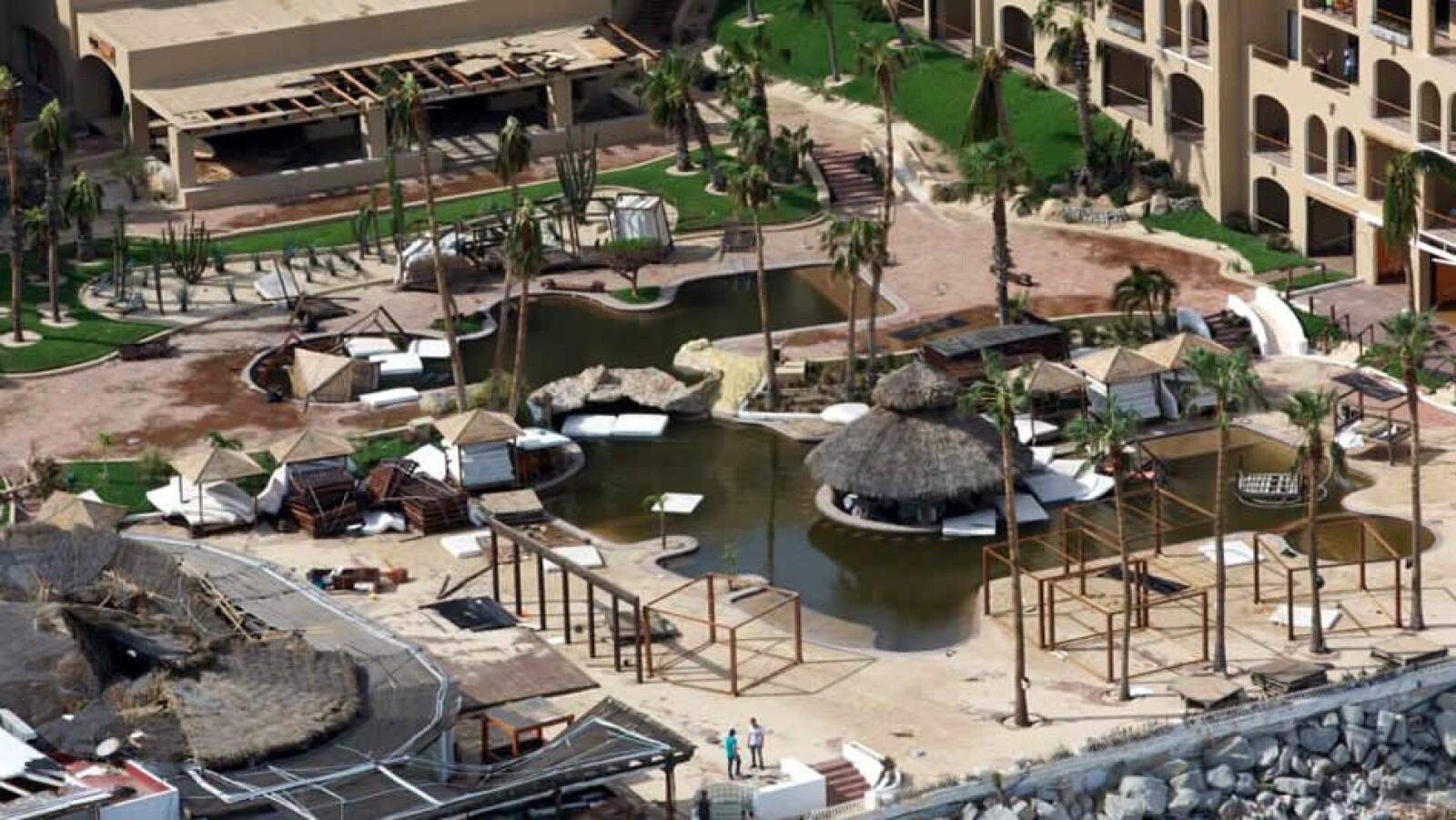 Odile Los Cabos hotel destrozos