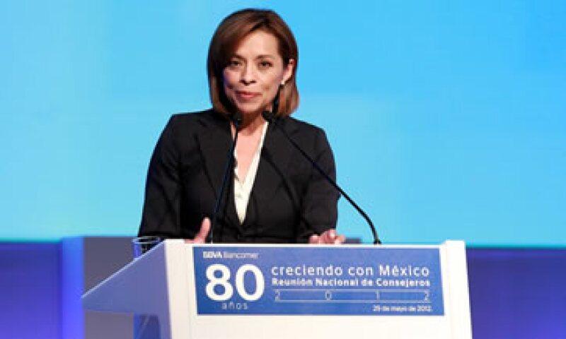 La candidata panista reiteró su propuesta de aplicar cadena perpetua a políticos ligados al crimen. (Foto: Notimex)