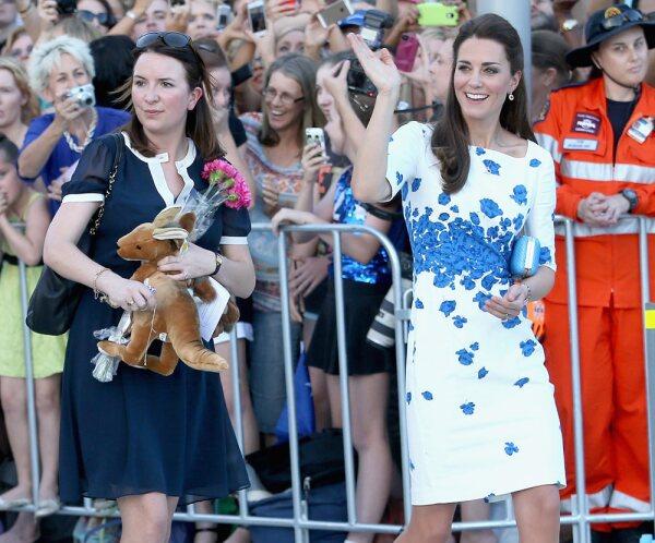Kate Middleton asistente