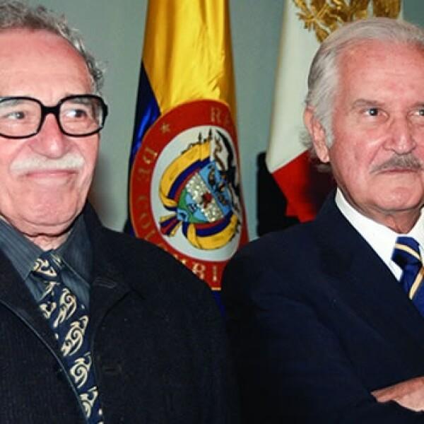 Carlos Fuentes y Gabriel García Márquez