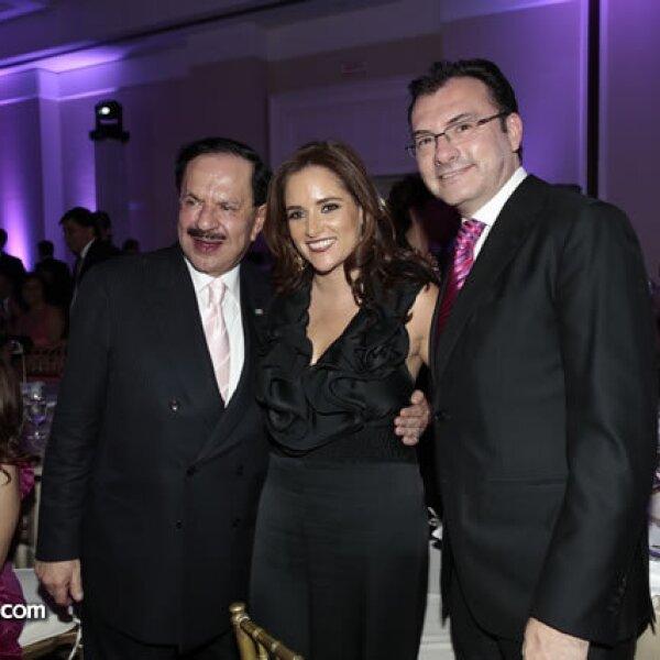 Juan Francisco Ealy Ortiz,Virginia Gómez del Campo,Luis Videgaray (Secretario de Hacienda y Crédito Público)