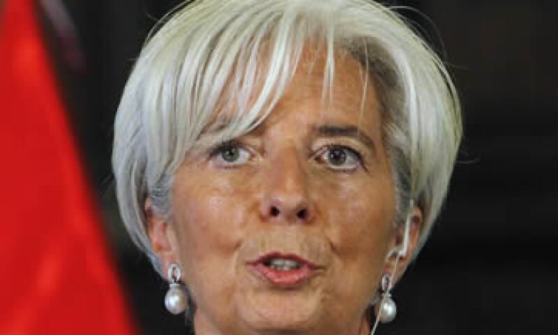 Lagarde dijo que el FMI ya está bastante comprometido con la situación global. (Foto: Reuters)