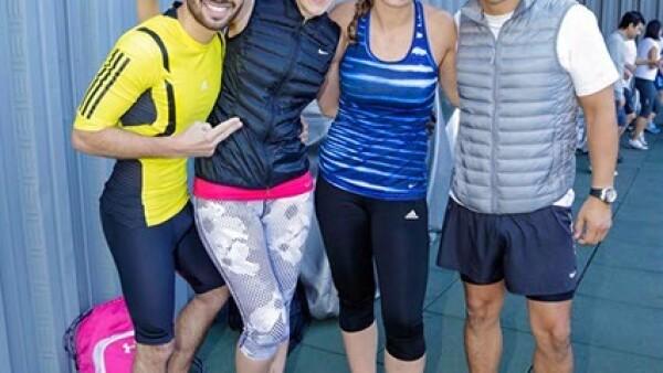 Cristofer Juárez,Gaby Álvarez,Jenifer Aspiroz y Miguel González