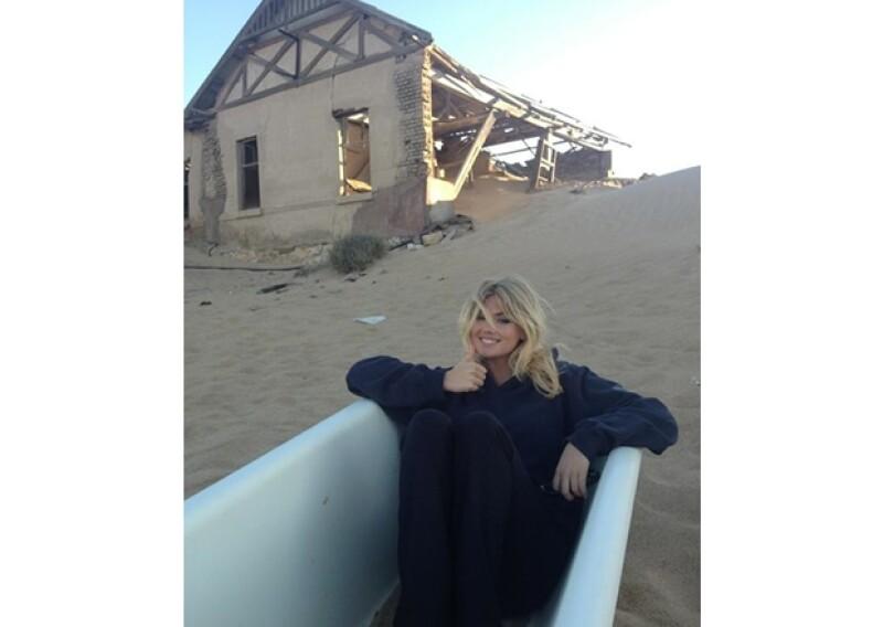 Kate Upton es una de las nuevas modelos a seguir.