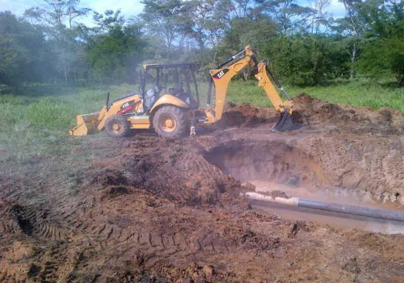Construcci�n ducto