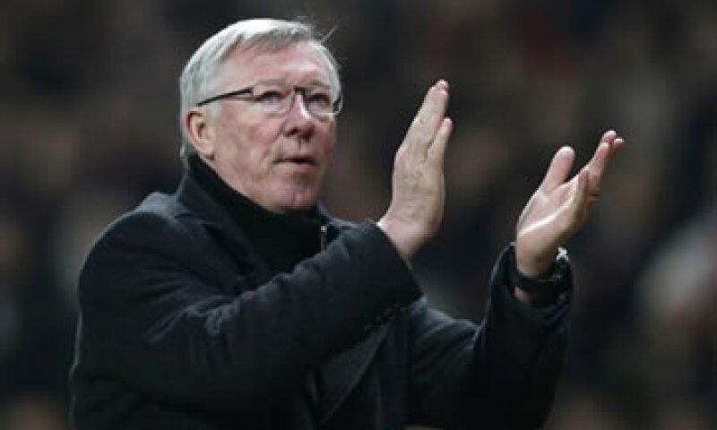 Sir Alex Ferguson obtuvo 13 títulos de Liga al frente del Manchester United.  (Foto: Reuters)