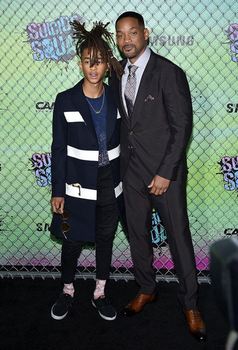 El actor elogia a su hijo Jaden por la valentía que ha demostrado al desafiar las convenciones sociales con su imagen pública, aunque le preocupan sus consecuencias.