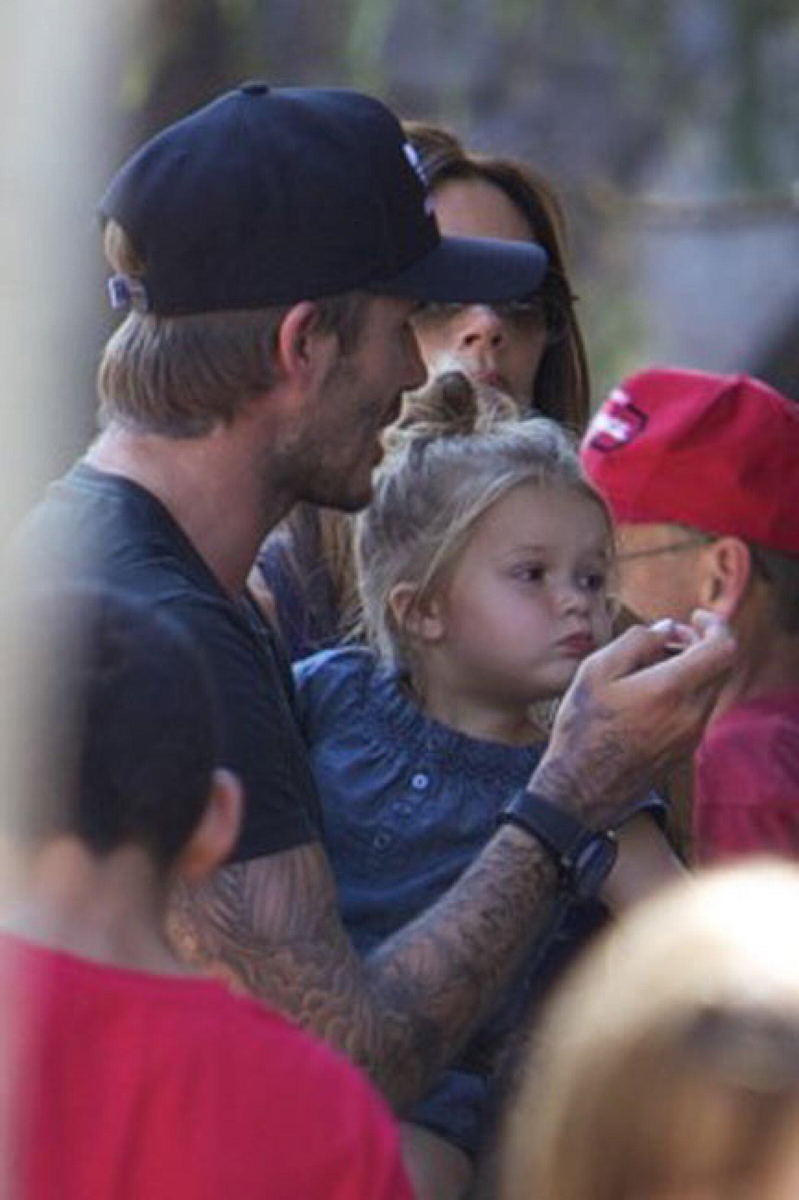 Toda la familia se esmeró en complacer a la princesa: Harper.