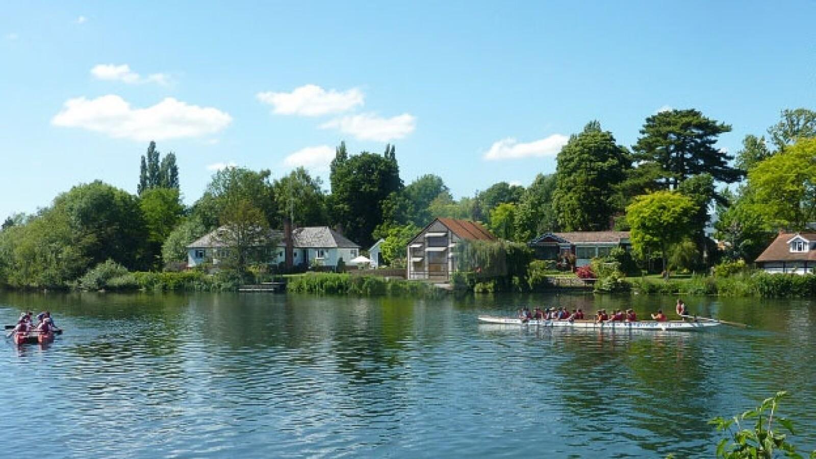 casas flotantes inundaciones