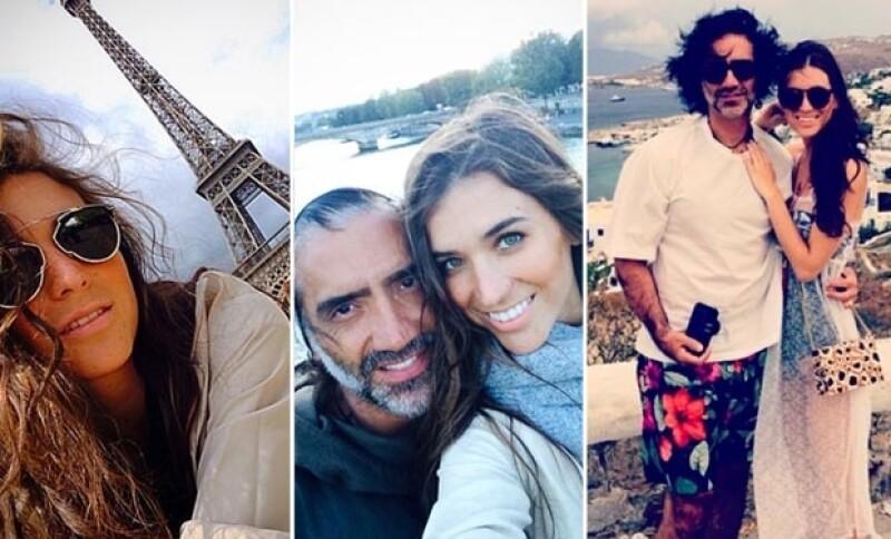 La pareja está en su mejor momento, viviendo su noviazgo por Europa.