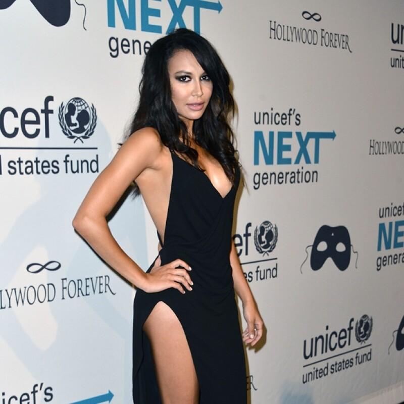 Kim recibió una dura crítica por el hecho de ser mamá y desnudarse públicamente, sobre todo por Naya Rivera.