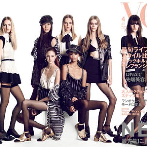 Modelos como Maarje Verhoe, Sam Rollinson, Malaika Firth y la mexicana, Issa Lish, son protagonistas en la portada de Vogue Japón. Usando ropa de Chanel, Saint Laurent, Givenchy, Gucci y Miu Miu, fueron fotografiadas por Luigi and Iango.