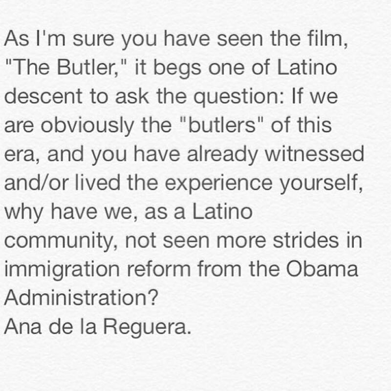 La actriz veracruzana emitió a través de Twitter un mensaje dirigido además a Oprah Winfrey y Eva Longoria, en el que cuestiona que no haya avances en ofrecer mejores condiciones de vida a latinos.