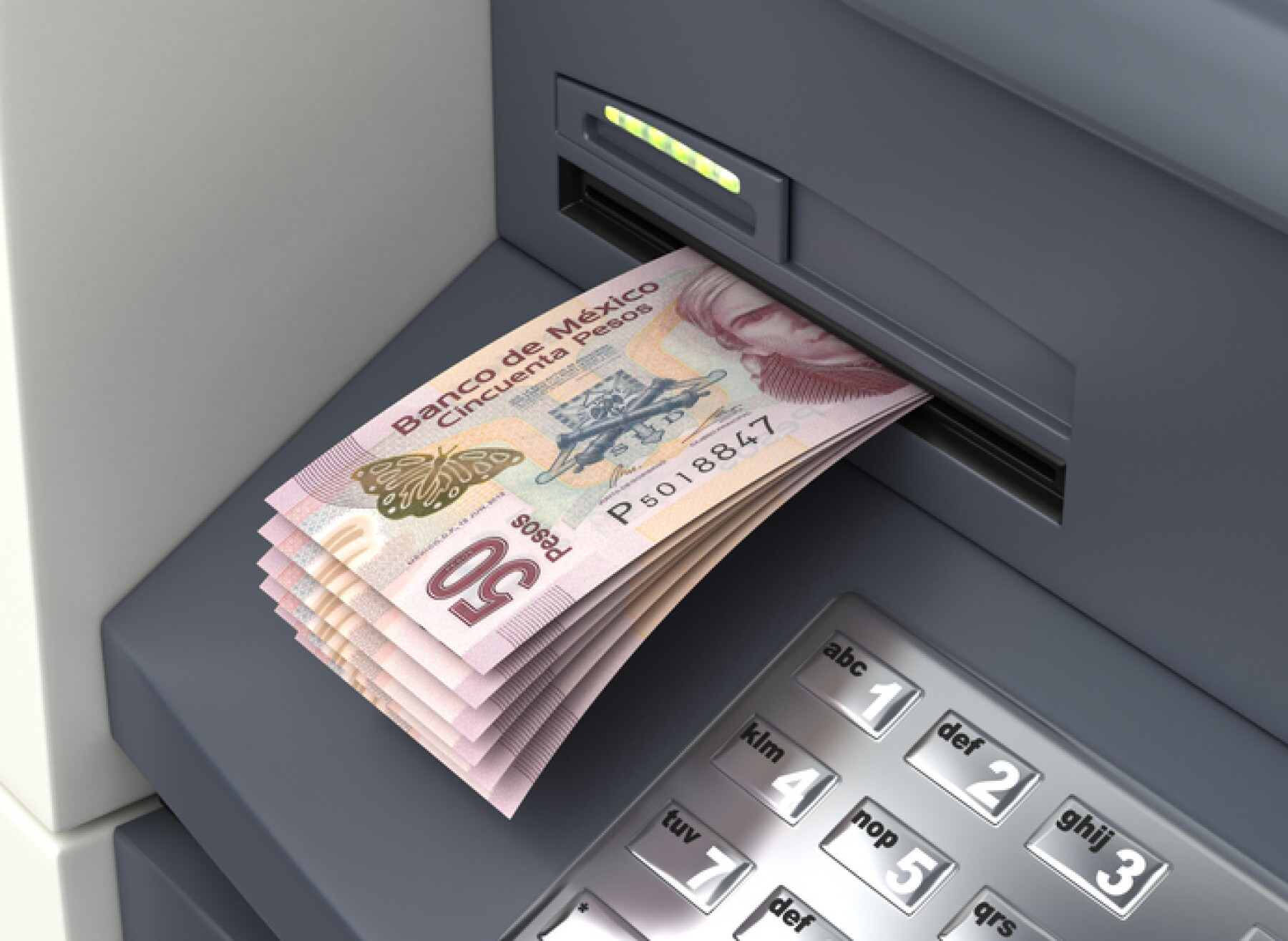 Withdrawal Mexican Pesos From The ATM