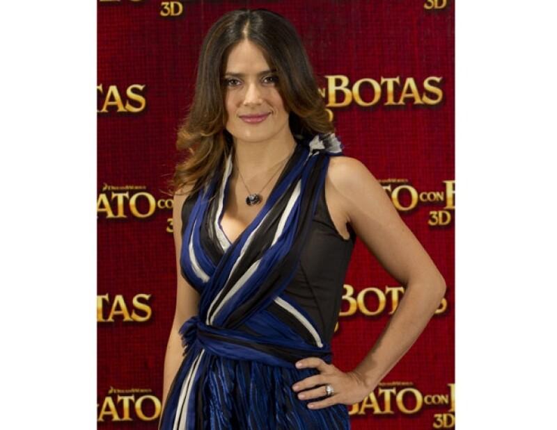 Salma es de las pocas actrices mexicanas que han hecho carrera en Hollywood.