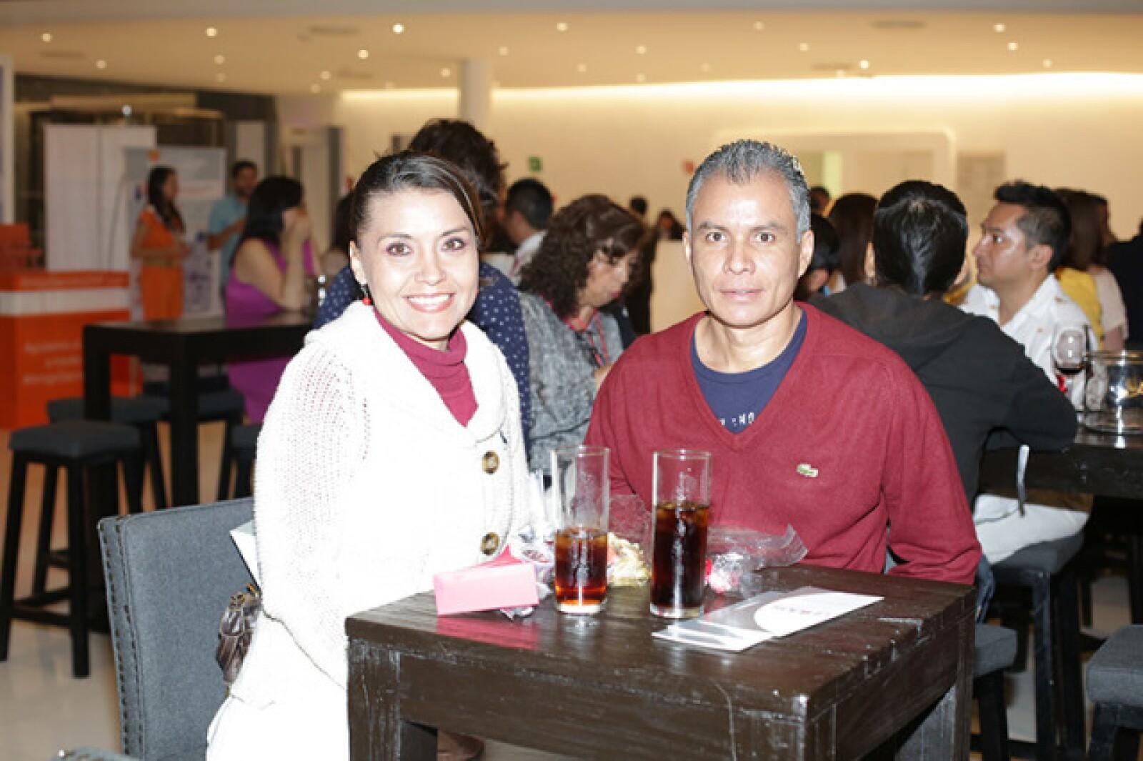 Verónica Morales y José Antonio García