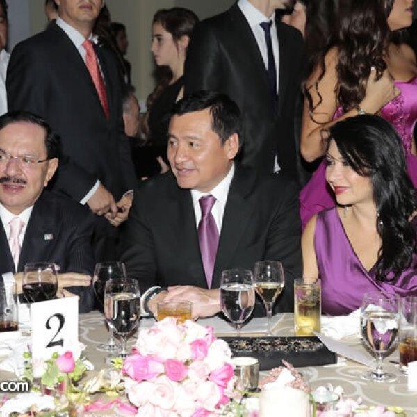 Juan Francisco Ealy Ortiz,Miguel Ángel Osorio Chong (Secretario de Gobernación),Laura Vargas de Osorio