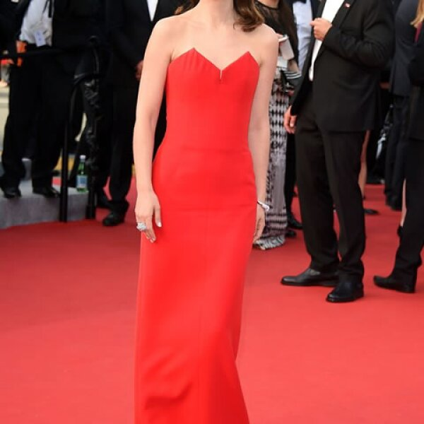 Natalie Portman también en Christian Dior Couture.