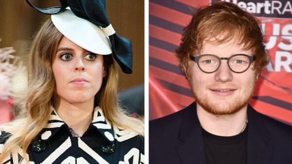 Princesa Beatriz y Ed Sheeran